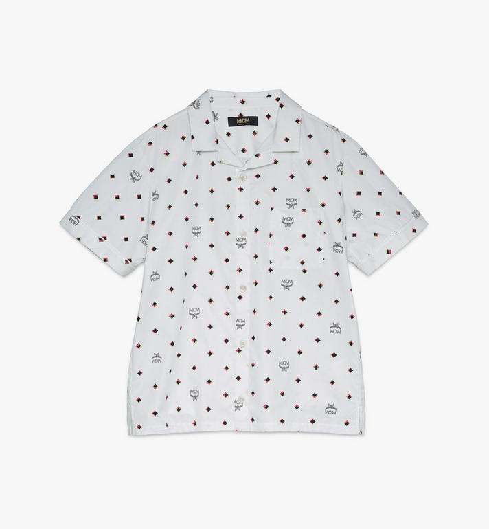 MCM Men's 1976 Disco Diamond Print Shirt Alternate View