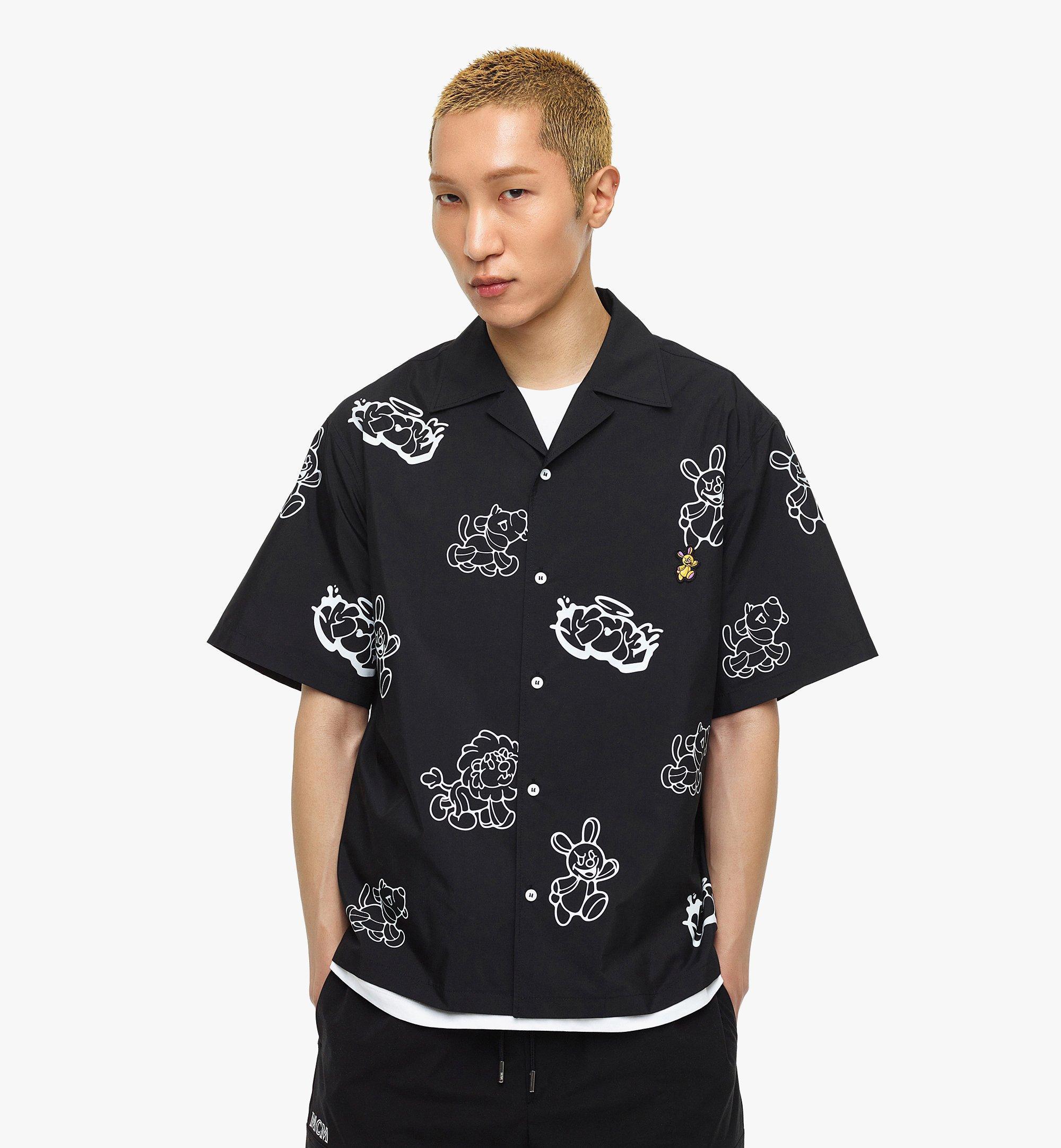 MCM MCM x SAMBYPEN 男士短袖襯衫 Black MHHBASP01BK00L 更多視圖 3