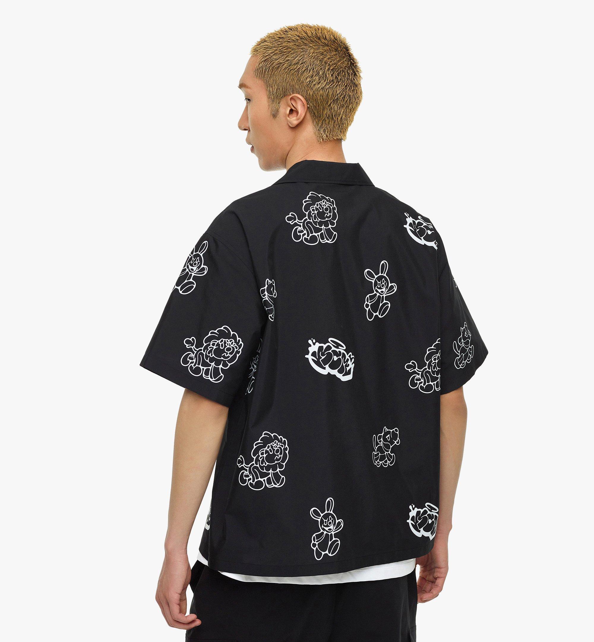MCM MCM x SAMBYPEN 男士短袖襯衫 Black MHHBASP01BK00L 更多視圖 4