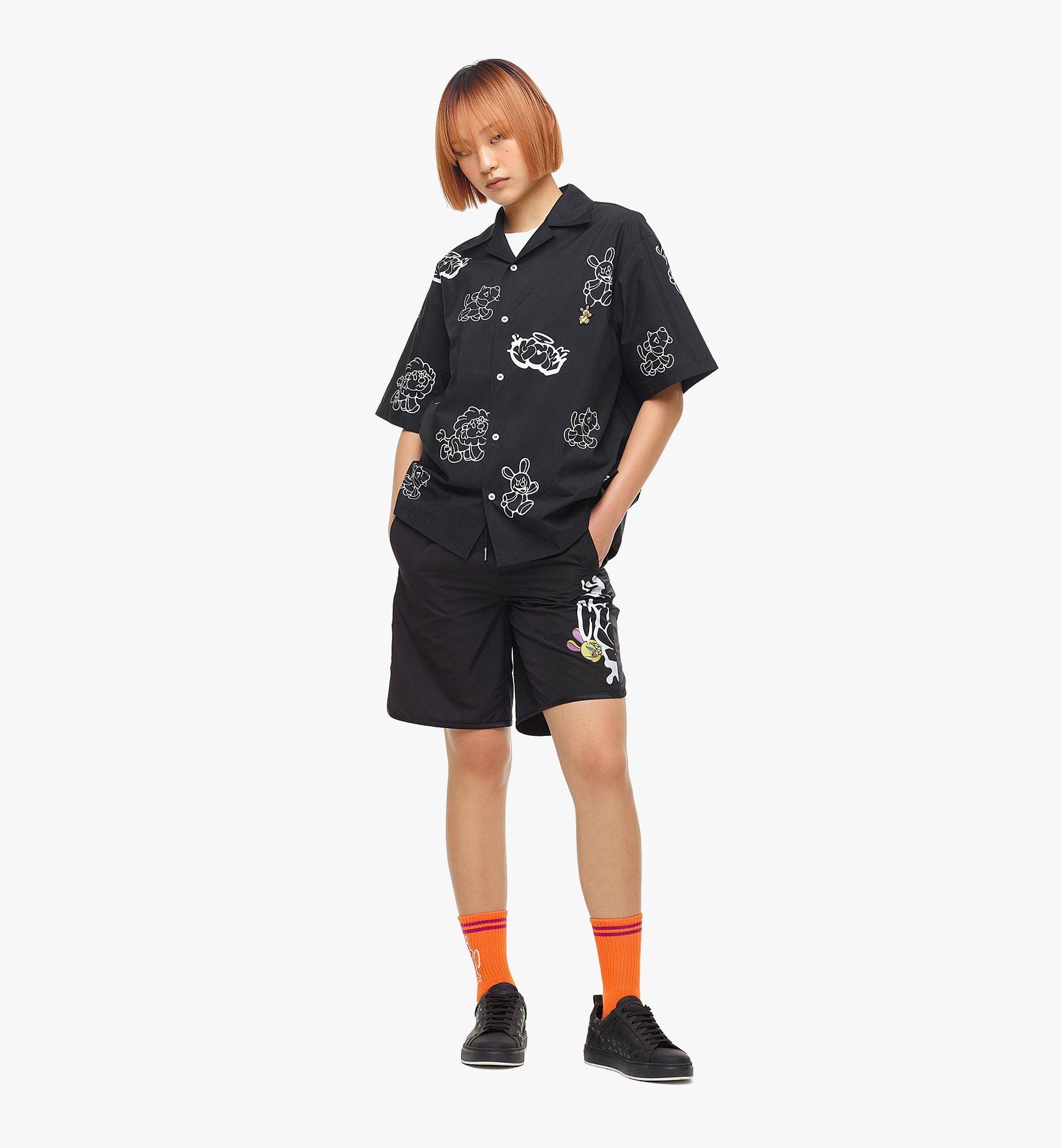 MCM MCM x SAMBYPEN 男士短袖襯衫 Black MHHBASP01BK00L 更多視圖 5