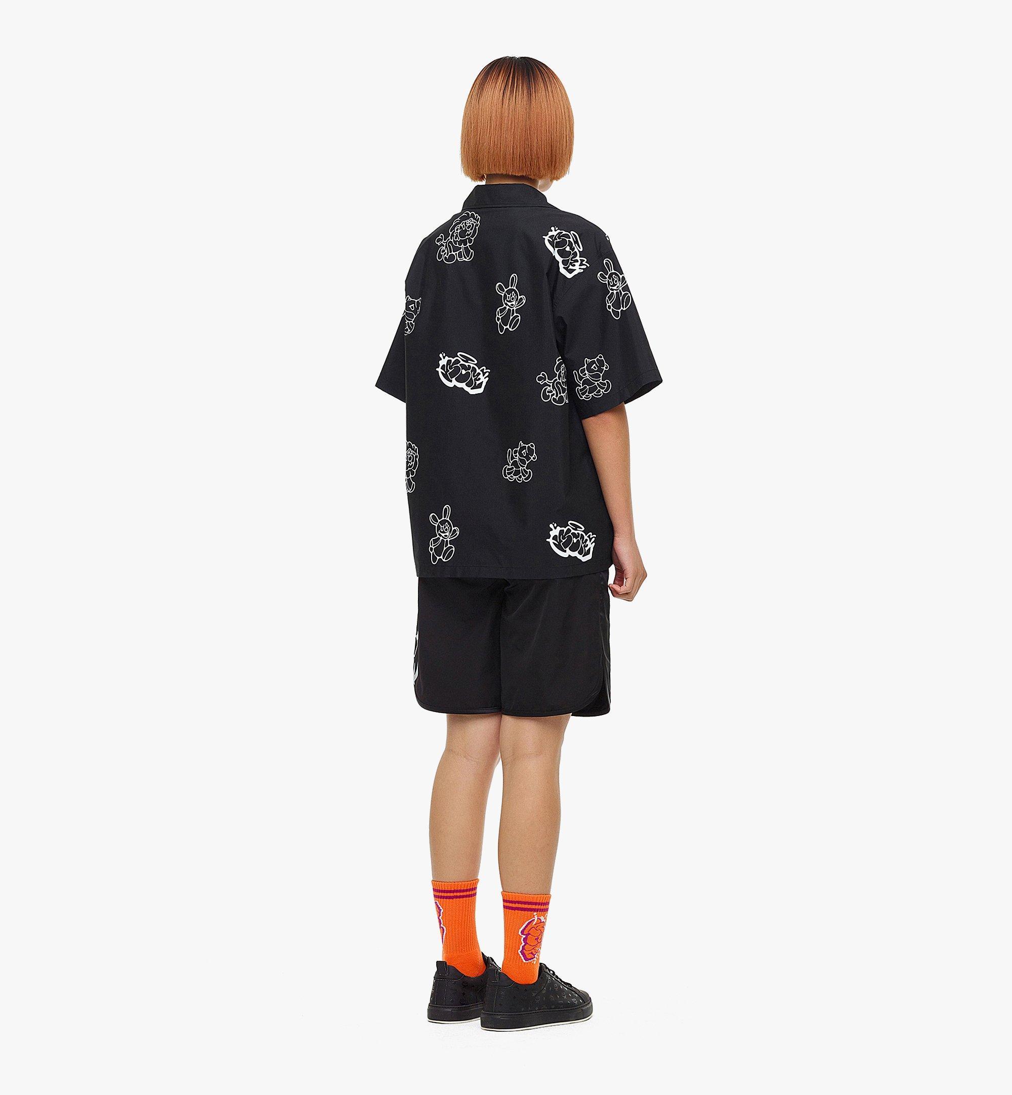 MCM MCM x SAMBYPEN 男士短袖襯衫 Black MHHBASP01BK00L 更多視圖 6