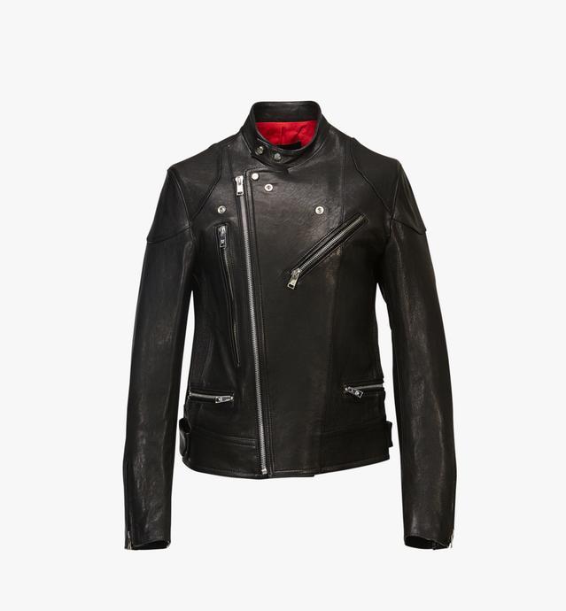 남성용 레더 라이더 재킷