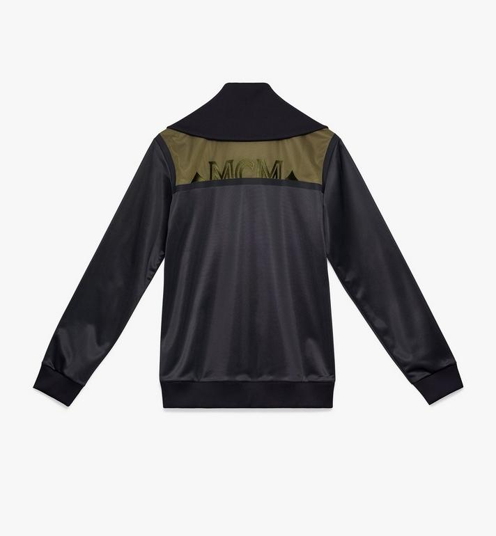 MCM Men's Milano Track Jacket Black MHJ9ADA66BK00L Alternate View 2
