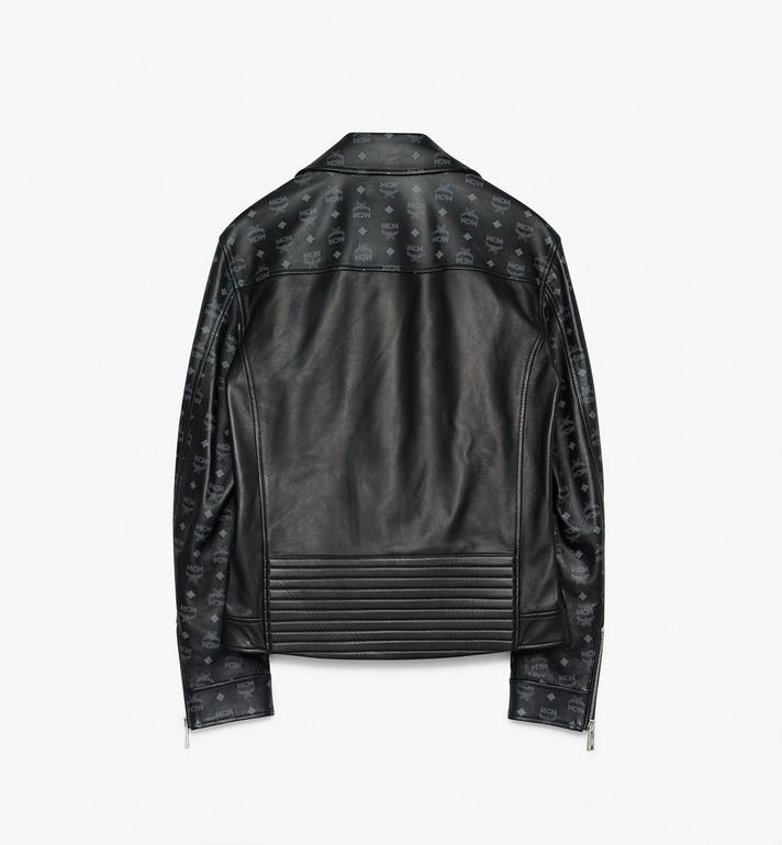MCM Men's Rider Jacket in Visetos Alternate View 2