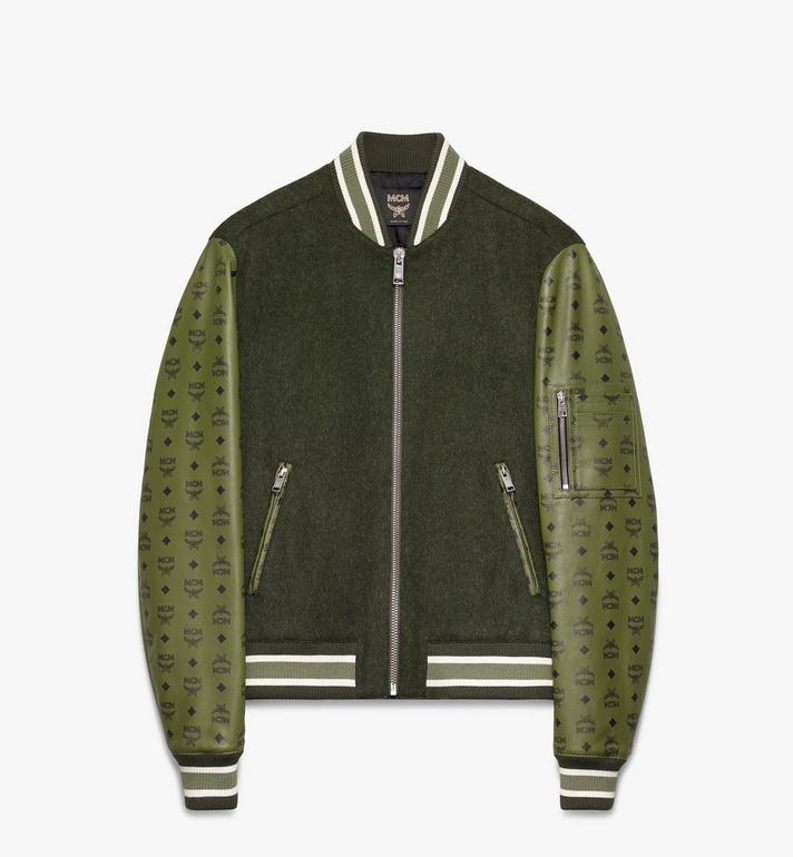 MCM Men's Bomber Jacket in Visetos Alternate View
