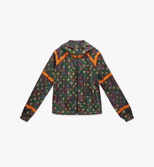 Coupe-vent pour homme en nylon camouflage