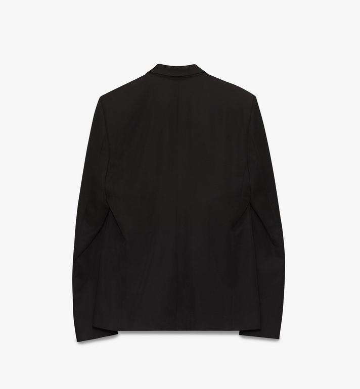 MCM Men's Resnick Tailored Jacket in Wool  MHJ9ARA38BK048 Alternate View 2