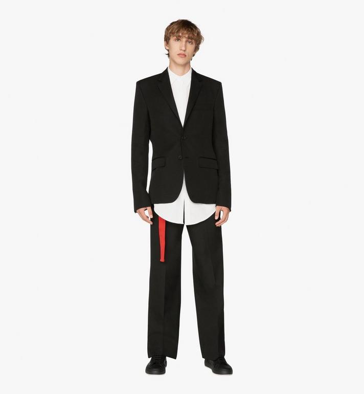 MCM Men's Resnick Tailored Jacket in Wool  MHJ9ARA38BK048 Alternate View 3