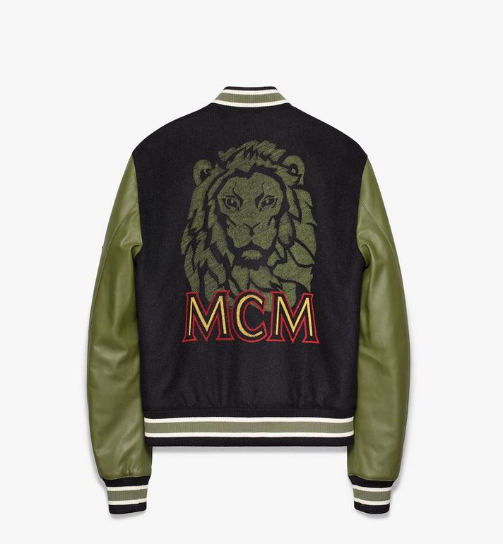MCM Men's Munich Lion Bomber Jacket Alternate View 2