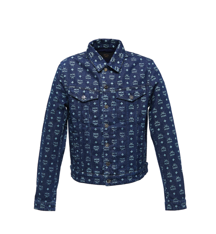 MCM Veste en denim en Visetos pour homme Alternate View