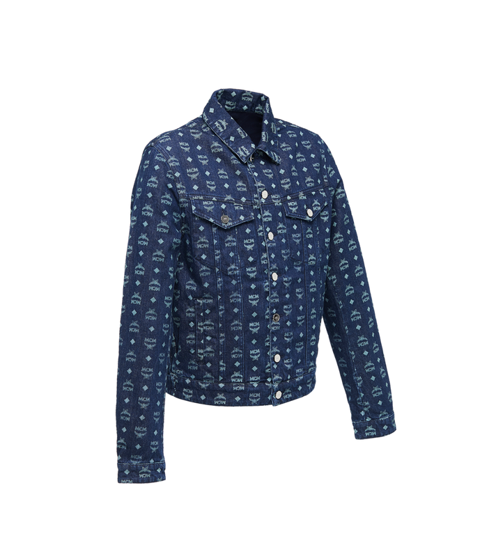 MCM Veste en denim en Visetos pour homme Alternate View 2