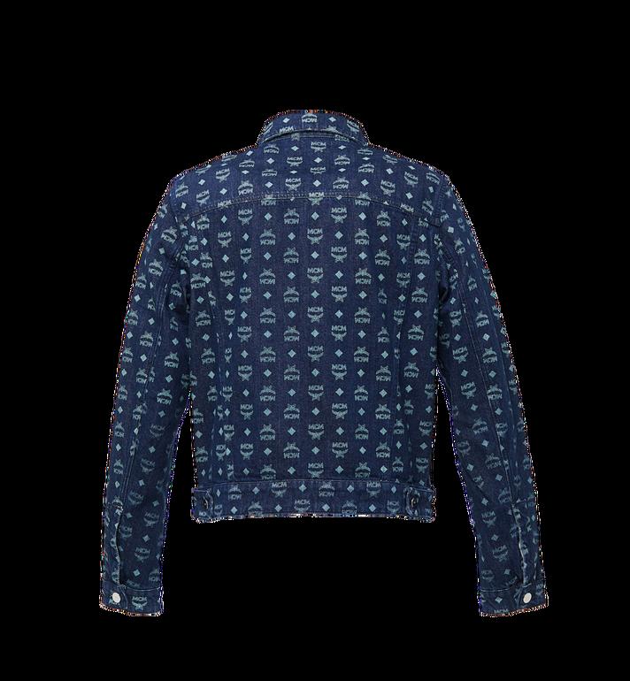 MCM Men's Denim Jacket in Visetos Alternate View 3