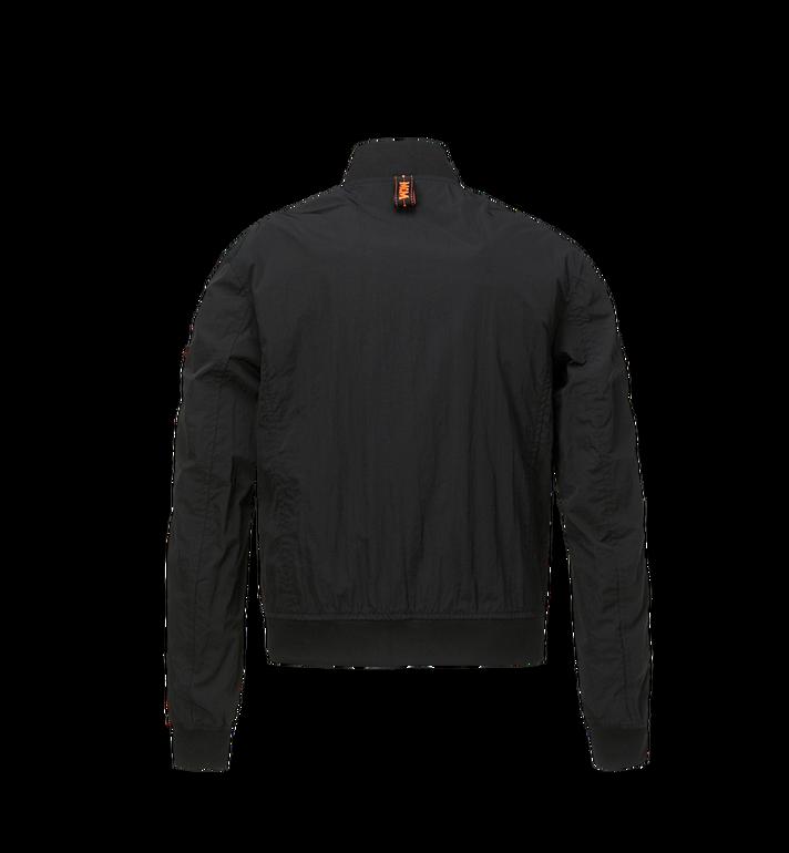MCM Men's MCM Taping Track Jacket in Nylon Black MHJ9SMM81BK00L Alternate View 3