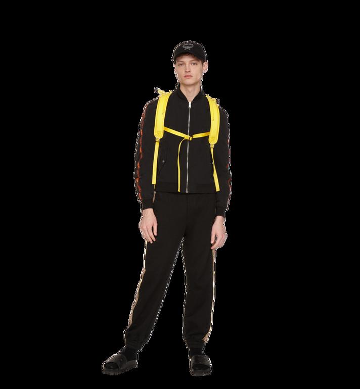 MCM Men's MCM Taping Track Jacket in Nylon Black MHJ9SMM81BK00L Alternate View 4