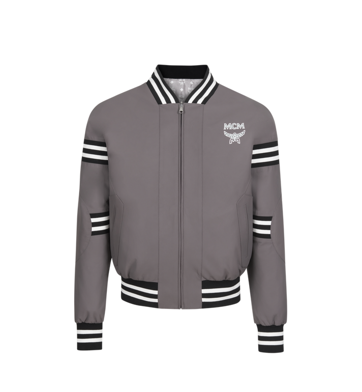 MCM Veste bomber M Move en cuir pour homme Alternate View