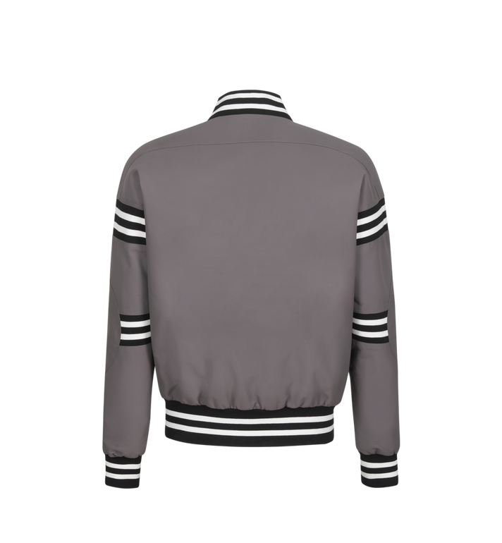 MCM Men's Reversible M Move Jacket in Tech Leather Black MHJ9SNX19BK046 Alternate View 3
