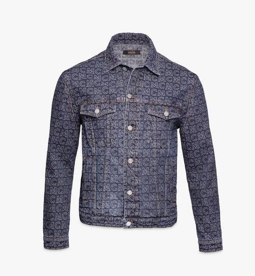 Men's Monogram Denim Jacket