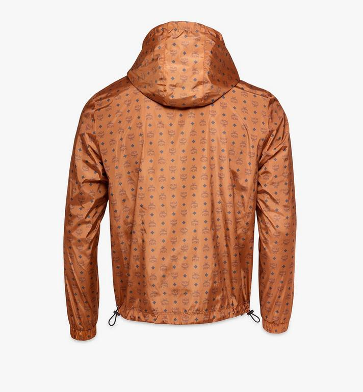 MCM Men's Windbreaker in Monogram Nylon Cognac MHJAAMM08CO052 Alternate View 2