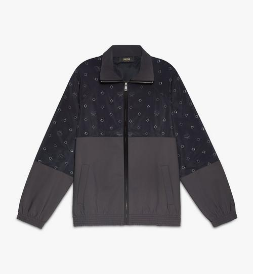 Men's Disco Diamond Track Jacket in Nylon