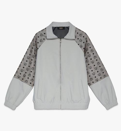 Men's Visetos Print Track Jacket in Nylon