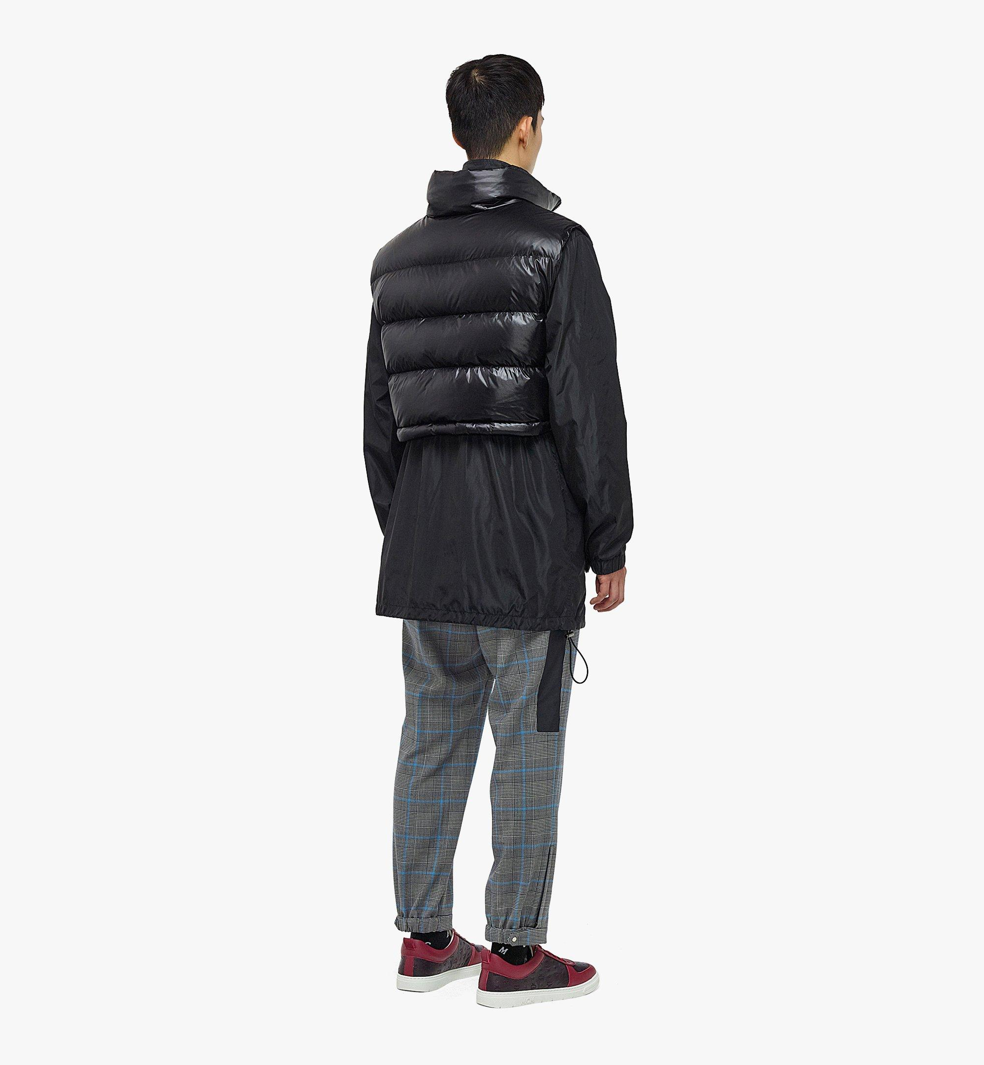 MCM Men's Logo Windbreaker and Vest in ECONYL® Black MHJBASX02BK046 Alternate View 4