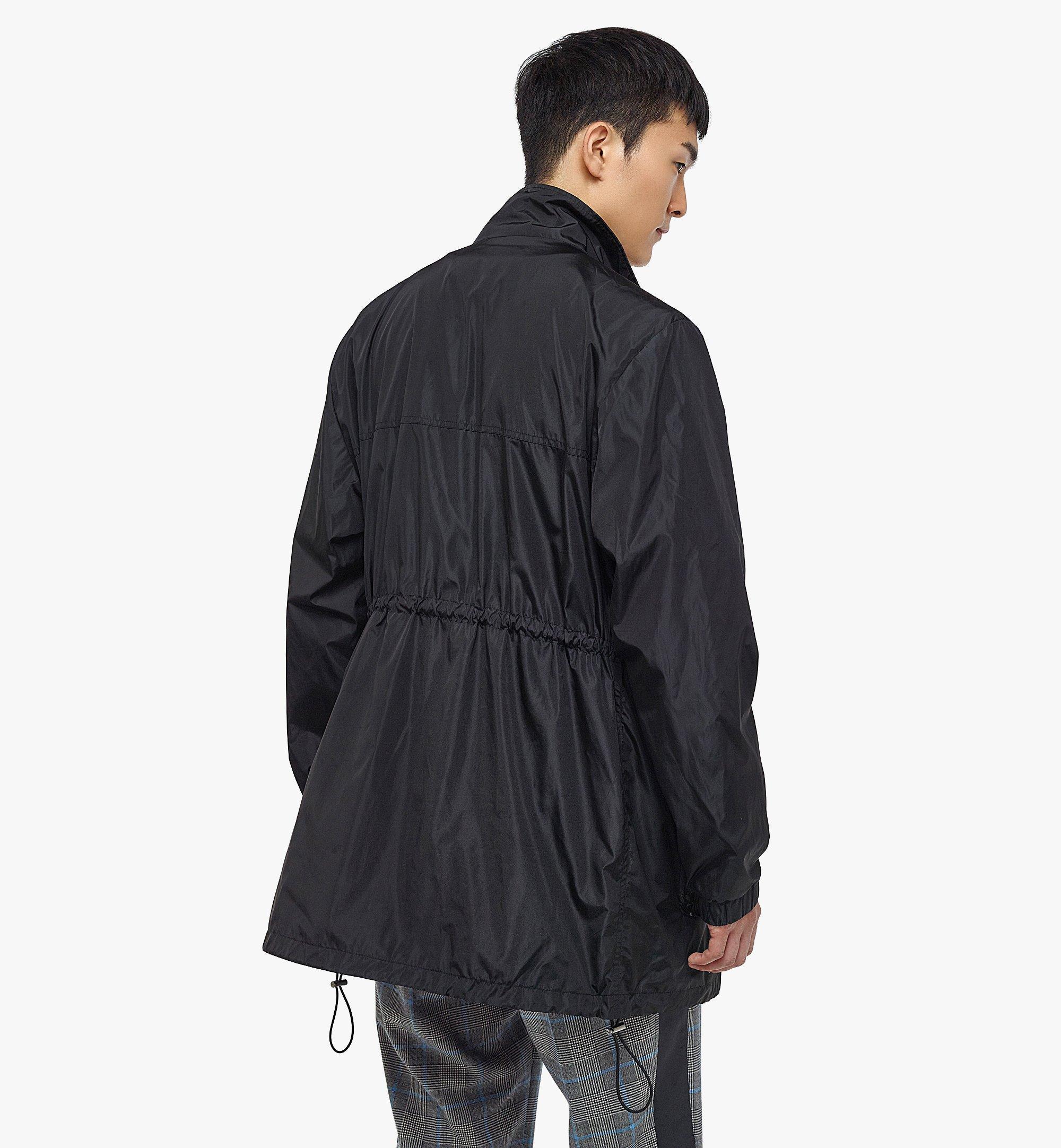 MCM Men's Logo Windbreaker and Vest in ECONYL® Black MHJBASX02BK046 Alternate View 5