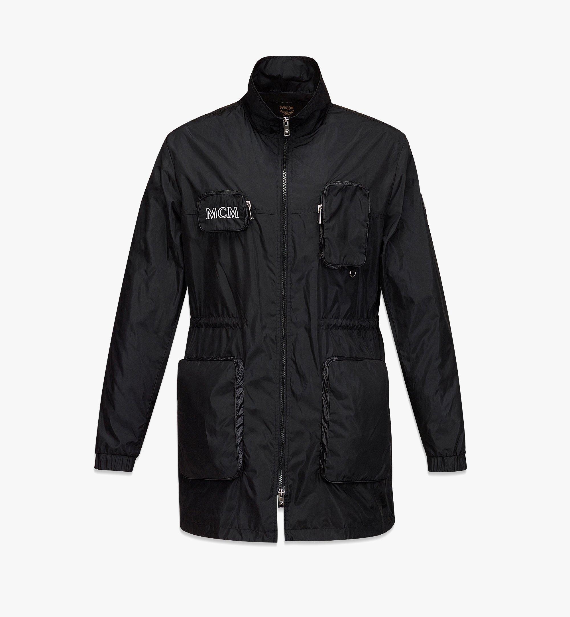 MCM Men's Logo Windbreaker and Vest in ECONYL® Black MHJBASX02BK050 Alternate View 1
