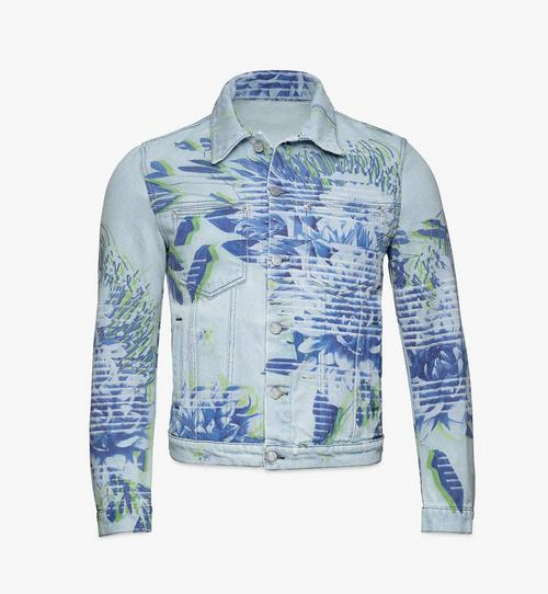 Men's Tech Flower Denim Jacket