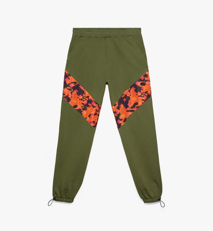 MCM Pantalon de survêtement pour homme en coton camouflage Alternate View