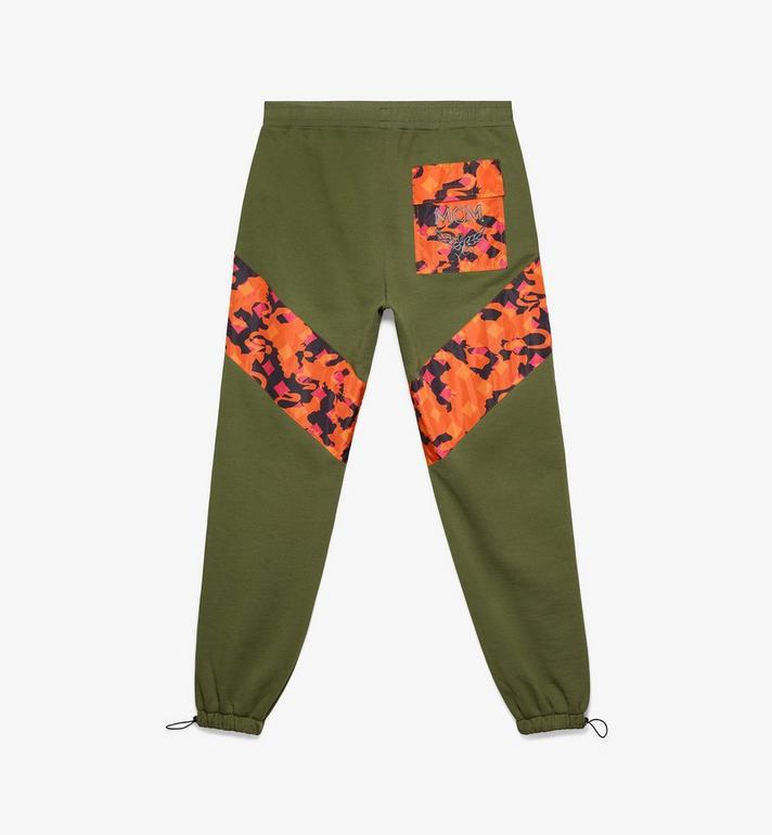MCM Pantalon de survêtement pour homme en coton camouflage Alternate View 2