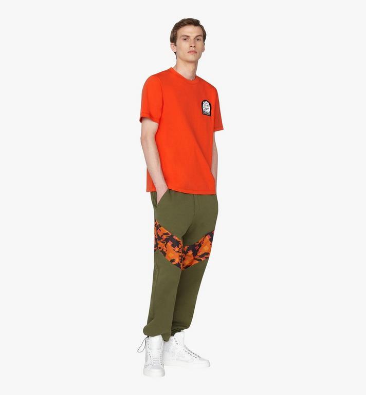 MCM Pantalon de survêtement pour homme en coton camouflage Alternate View 3