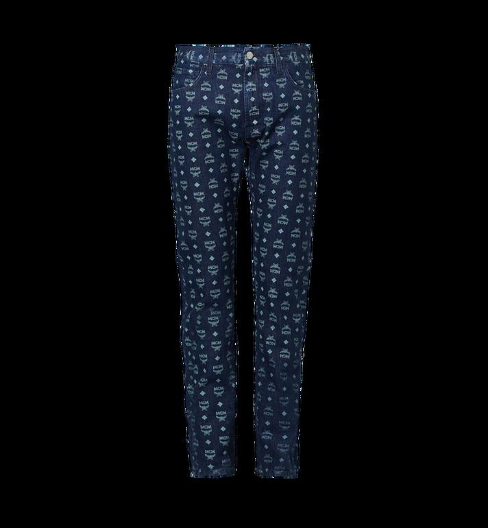 MCM Herren Jeans mit Visetos Print Alternate View