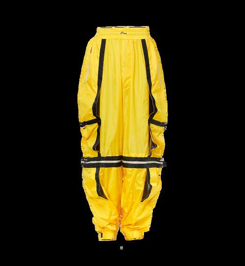 Pantalon parachute déstructuré en nylon pour homme