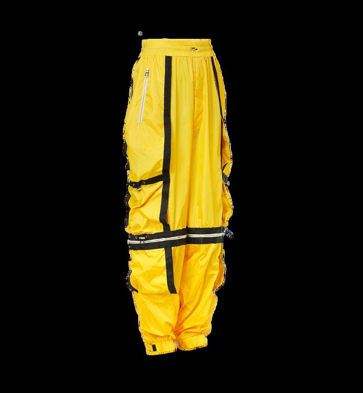 MCM Pantalon parachute déstructuré en nylon pour homme Yellow MHP9SNX15YW046 Alternate View 2