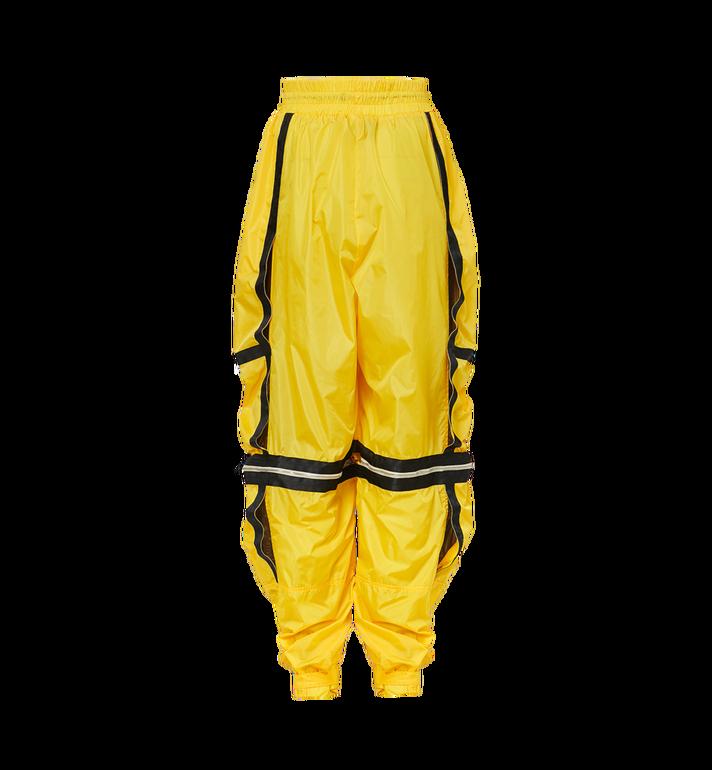 MCM Pantalon parachute déstructuré en nylon pour homme Yellow MHP9SNX15YW046 Alternate View 3