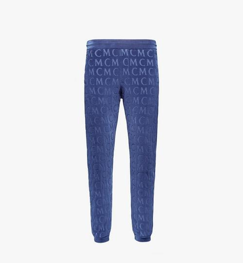 Men's Monogram Velour Track Pants