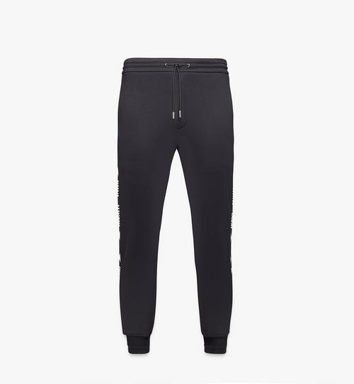 Pantalon de survêtement à demi logo en intarsia pour homme