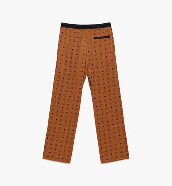 MCM Classic Logo Silk Pajama Pants  MHPASBM01CO00L Alternate View 2