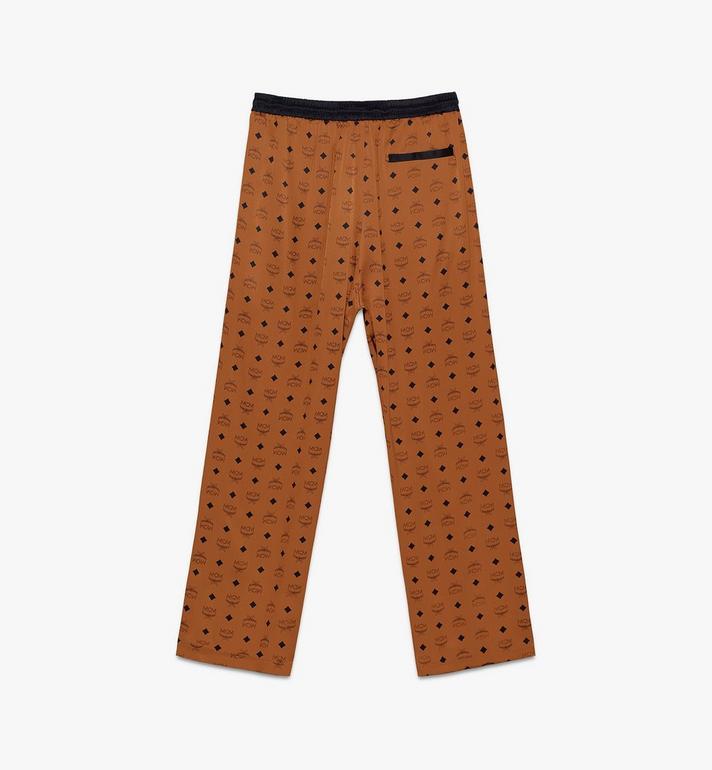 MCM Pantalon de pyjama classique en soie à imprimé logo  MHPASBM01CO00M Alternate View 2