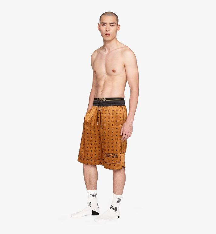 MCM Men's Silk Drawstring Shorts  MHPASBM02CO00S Alternate View 3