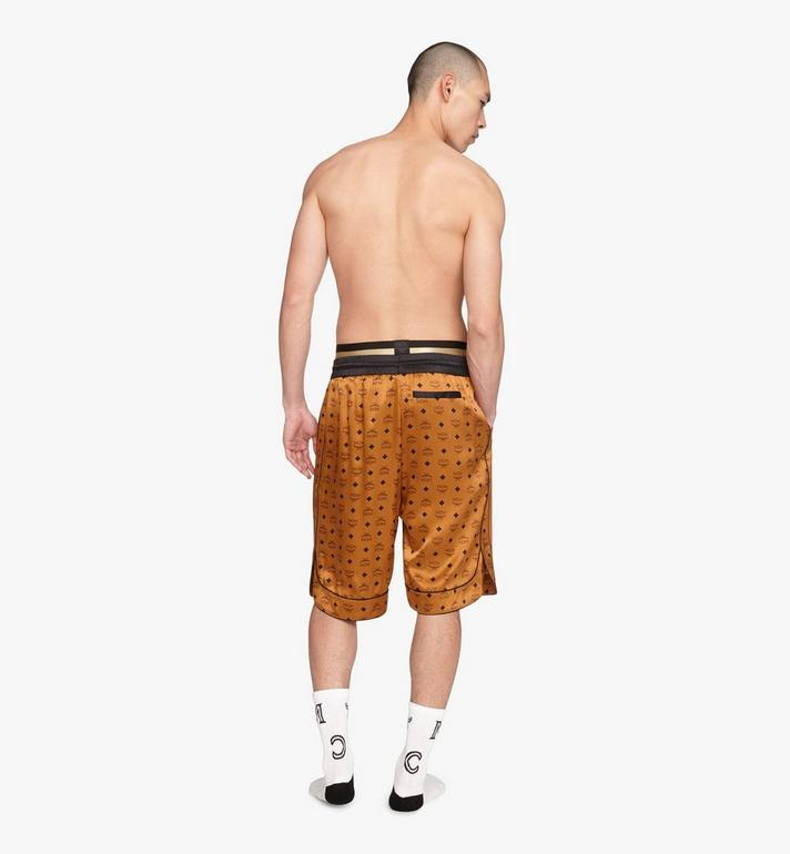 MCM Men's Silk Drawstring Shorts  MHPASBM02CO00S Alternate View 4