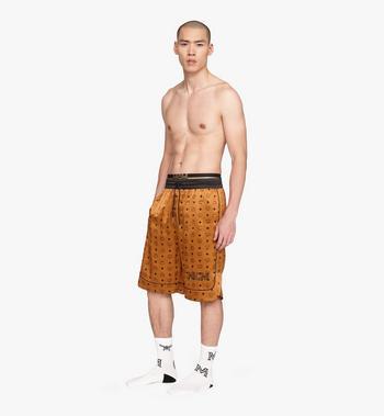 MCM Men's Silk Drawstring Shorts  MHPASBM02CO0XL Alternate View 3