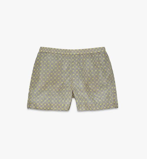 Men's Monogram Print Board Shorts