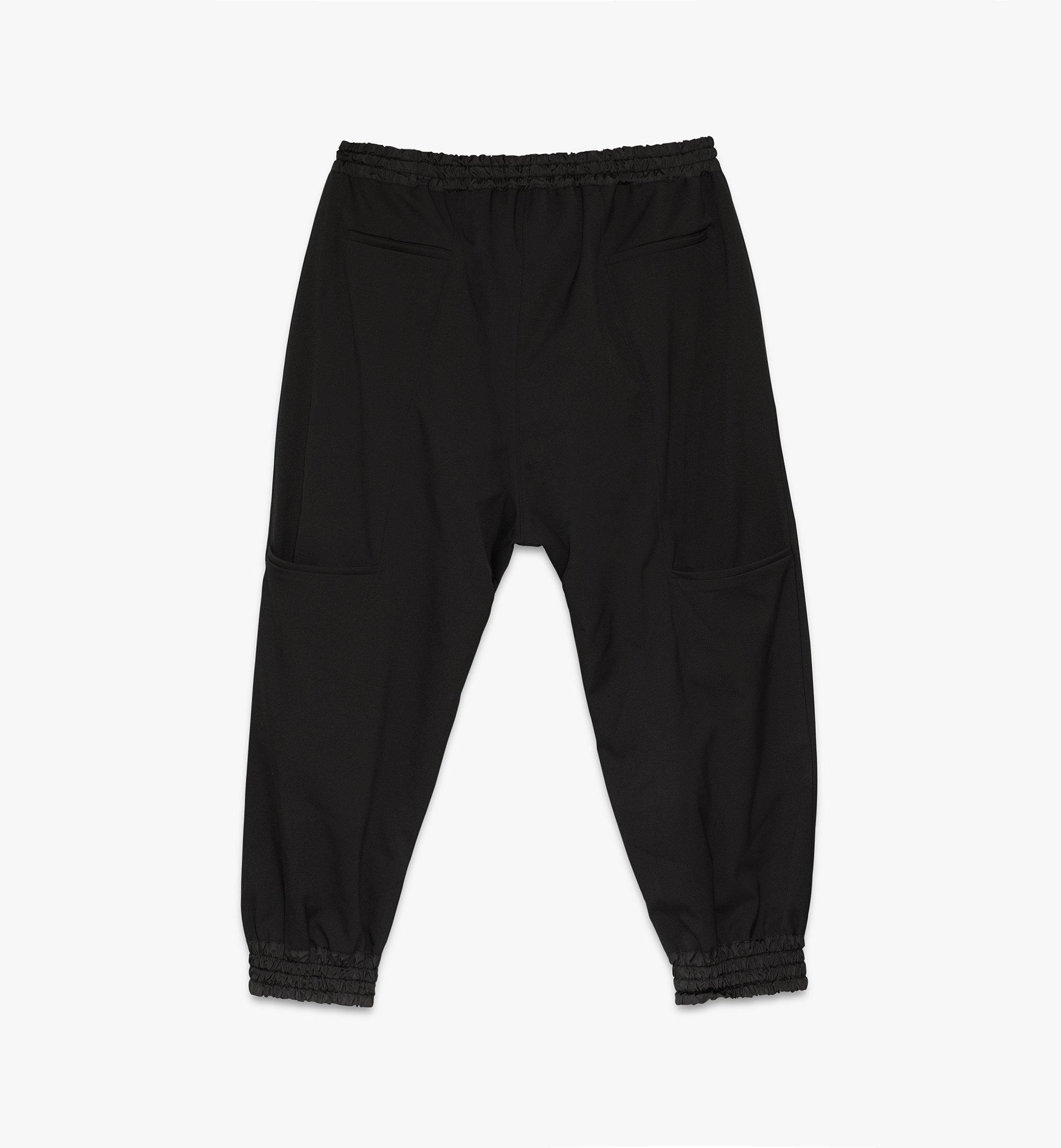 MCM Men's 1976 Wool Cargo Sweatpants Black MHPASMV08BT050 Alternate View 1