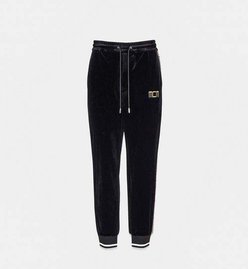 Geo Laurel Track Pants in Velour