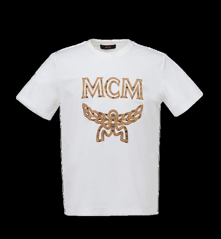 MCM Men's Classic Logo T-Shirt MHT7AMM01WT00L AlternateView