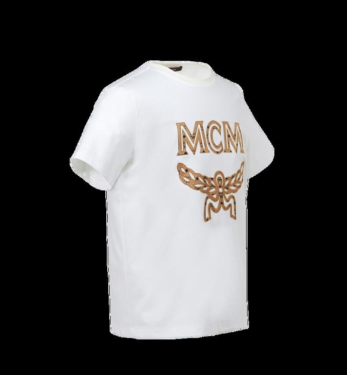 MCM Men's Classic Logo T-Shirt MHT7AMM01WT00L AlternateView2