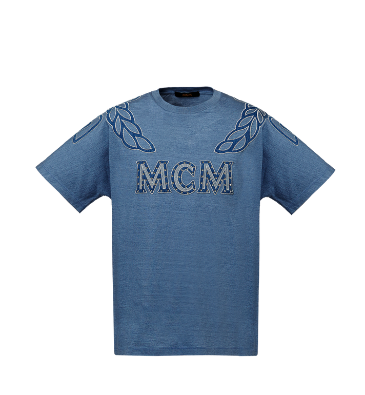 MCM MCM Denim Logo T-shirt Alternate View
