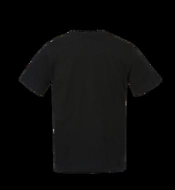 MCM Herren T-Shirt mit Messingplakette MHT8AMM01BK00L AlternateView3