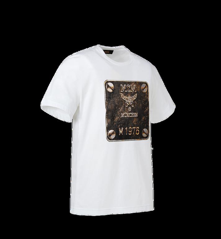 MCM Herren T-Shirt mit Messingplakette Alternate View 2